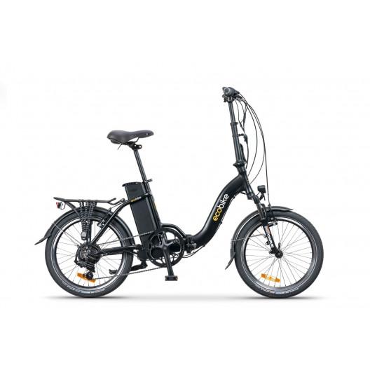 "Elektro Bicykel 20"" ECOBIKE EVEN 15,5"" +10,4Ah čierny"