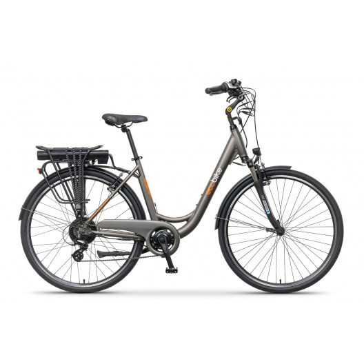 """Elektrický Bicykel ECOBIKE 28"""" CITY L GRAY Altus 7 prevodový 19""""+ 13Ah LG"""