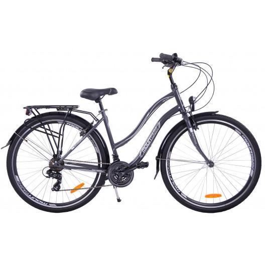 Bicykel 28 Mountain Core lady sivo-bielý
