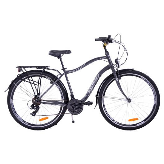 Bicykel 28 Mountain Core pánsky trekking sivo-čierný