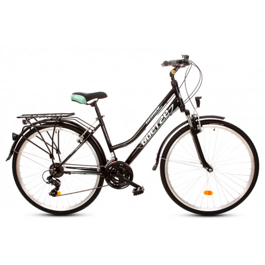 """Bicykel GOETZE GEMINI 28"""" TREKINGOVÝ zeleno čierny"""