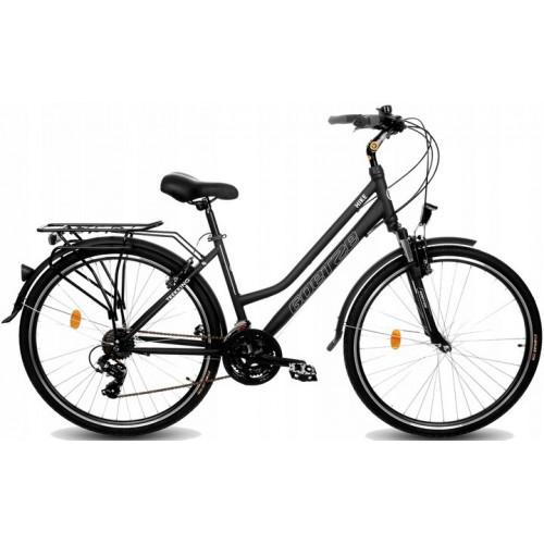 "Bicykel GOETZE Trekingový 28"" GEMINI SHIMANO Čierna"