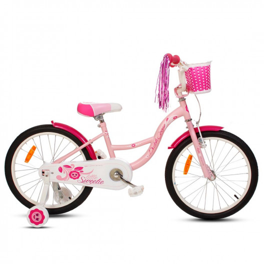 "Detský Bicykel 20"" Dutch Goose Little Sweetie Ružový 2020"