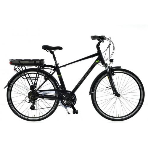 "Elektrické bicykel 28 KANDS LESTER E-bike Altus 3x7 250W 36V digitál 19 "" Čierny"