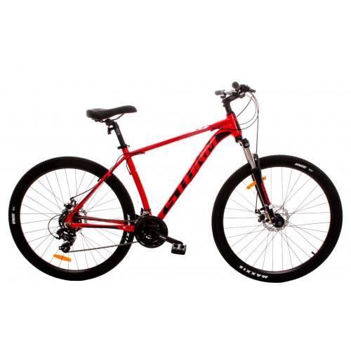 """Bicykel MTB Storm SHARK 19"""" / 29"""" Červený"""
