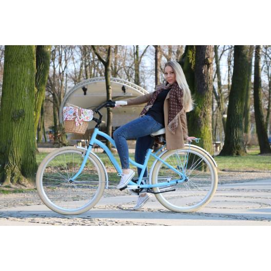 "Retro Bicykel COSSACK Cruiser American 28"" 3 prevodový+košík"