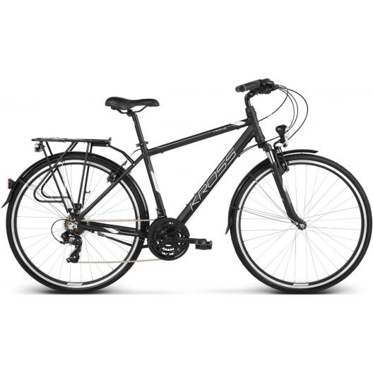"""Bicykel 28 Kross Trans 1.0 28 L21"""" čierno-biela"""