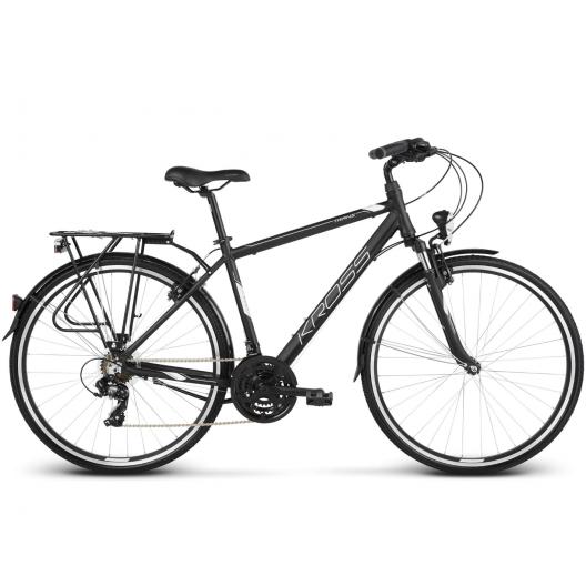 "Bicykel 28 Kross Trans 1.0 (S17"") čierno-biela"