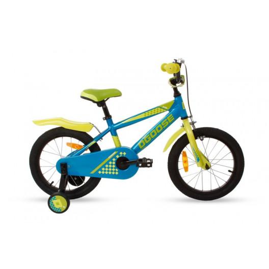 "Detský Bicykel DUCH GHOOSE AXEL 16"" Hlinikový Modrý"