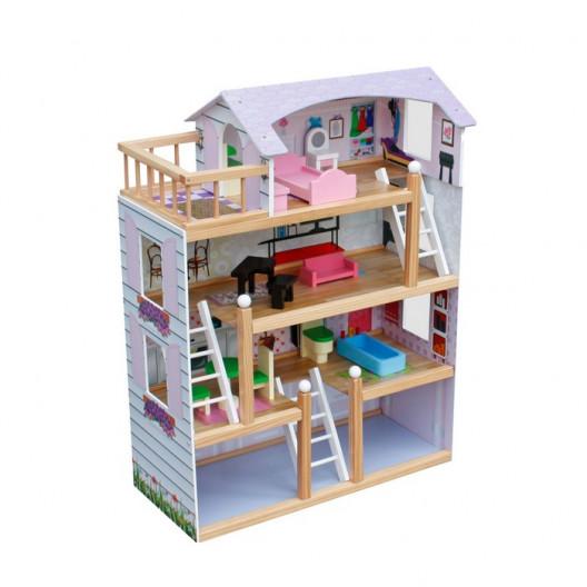 Wooden Toys DREVENÝ DOMČEK LAURA
