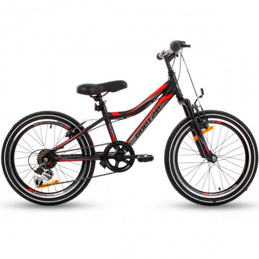 """Detský Bicykel GOETZE COOLER 20"""" Čierno-Červená"""