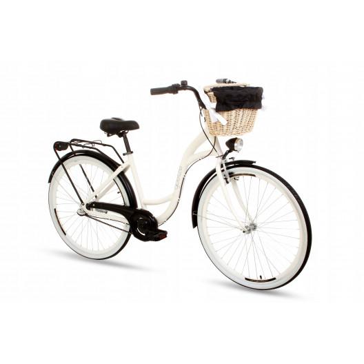 """Retro Bicykel GOETZE STYLE Hlinikový 28"""" 3 Prevodový"""