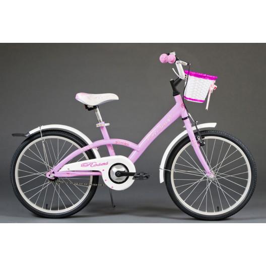 """Detský bicykel 20"""" ROSES 2019 FIALOVÝ"""