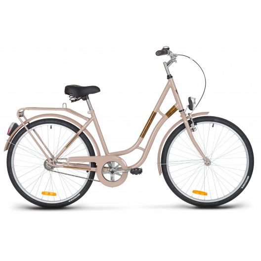 "Mestský Bicykel KANDS LAGUNA 26"" Jednoprevodový Cappucino"