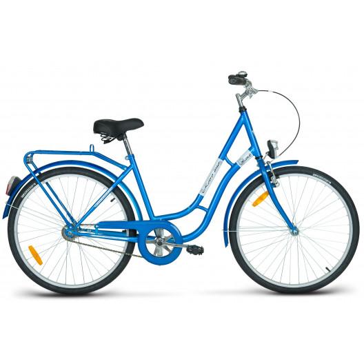 """Mestský Bicykel KANDS LAGUNA 26"""" Jednoprevodový modrý"""