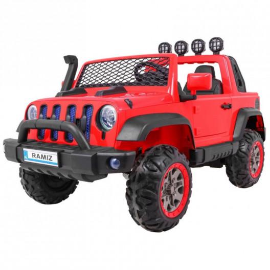 Elektrické autíčko JEEP ALLROAD 4x4 červené