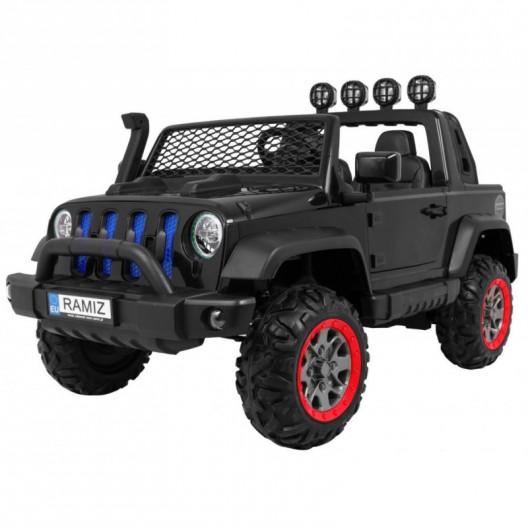 Elektrické autíčko JEEP ALLROAD 4x4 čierne