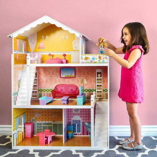 Wooden Toys DREVENÝ DOMČEK ELIZA