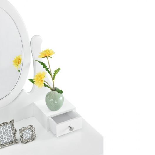 Toaletný kozmetický stolík TATIANA biely
