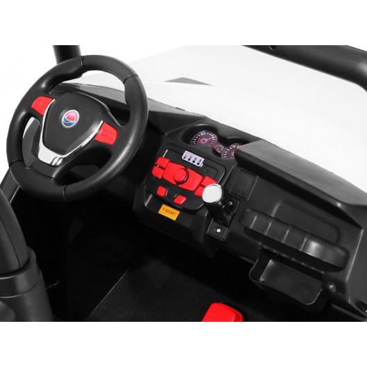 Elektrické autíčko BUGGY 4X4 RC RADIO USB Červené