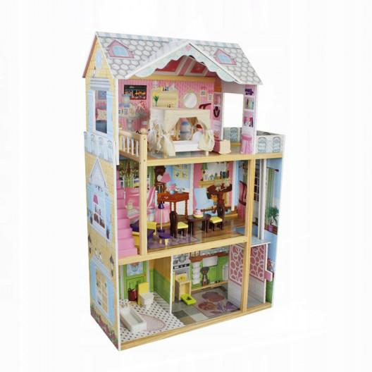 Wooden Toys Drevený domček LENA