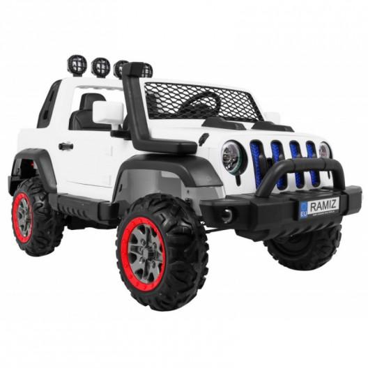Elektrické autíčko JEEP ALLROAD 4x4 Biele
